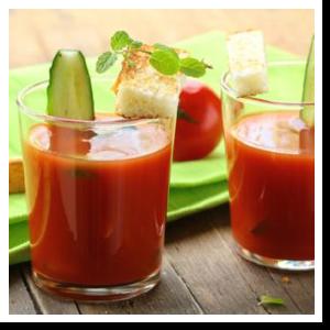 gazpacho andaluso con cetriolo bio