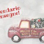 Calendario natalizio – consegne